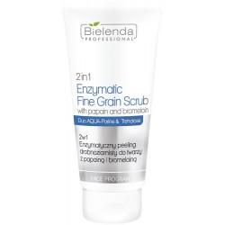 2w1 Enzymatyczny peeling drobnoziarnisty do twarzy z papainą i bromelainą
