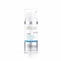 1,5% Hialuronowe serum w kremie do twarzy