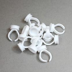 Pierścionki na pigment - jednokomorowy - 10 sztuk