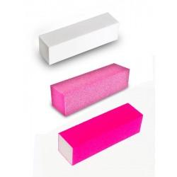 Blok polerski biały do manicure i stylizacji paznokci