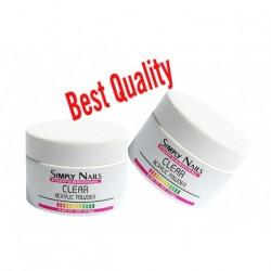 Simply Nails Akryl kolor Clear 15gr