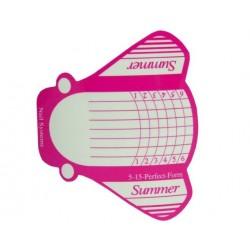 Szablony do przedłużania paznokci SUMMER 100 szt