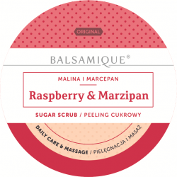 Alba - Peeling cukrowy Malina Marcepan 450g