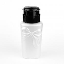 Butelką z pompką Kokarkda - biała