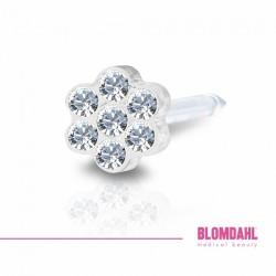 BLOMDAHL Daisy 5mm, Crystal