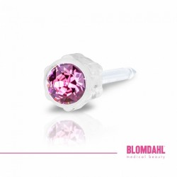 BLOMDAHL Medical Plastic 4mm Rose