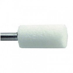Frez kamienny-walec biały 6,5mm