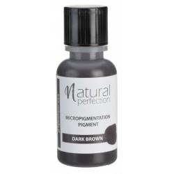 Barwnik Naturalny permanentny DARK BROWN 14ml