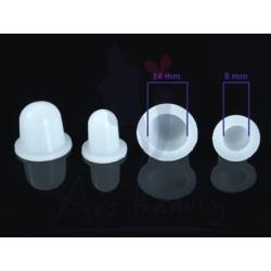 Kubeczki na pigment Silikonowe 9mm
