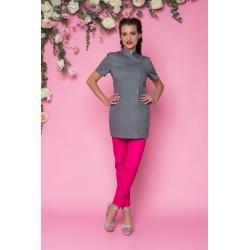 Rena Fartuch model 25/50 grafit 75 cm roz.44