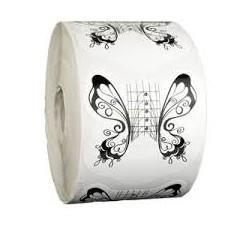 Szablony Szerokie 500szt - Butterfly
