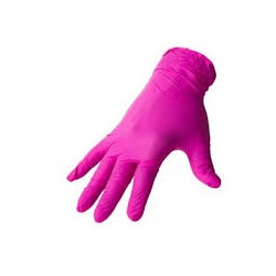 Rękawiczki różowe roz. M MAKSAFE