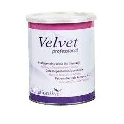 Wosk do depilacji w puszce Różany Velvet 800ml