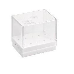 Pudełko do frezów na 10 instrumentów pochyłe
