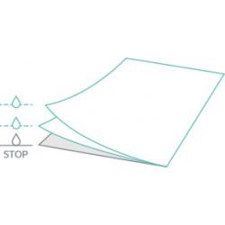 Podkład papier,papier,folia Czarny 51cm/50m