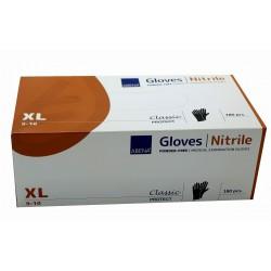 Rękawice nitrylowe czarne...